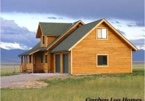 Log Home Plans with Garage Nevada City Plan 2 840 Sq Ft Cowboy Log Homes