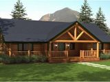 Log Home Ranch Floor Plans Ranch Style Homes Hickory Spring Log Home Floor Plans