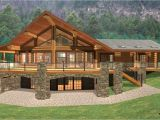 Log Homes with Basement Floor Plans Log Cabin Home Plans with Basement Log Cabin Style House
