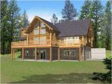 Log Homes with Basement Floor Plans Marvin Peak Log Home Plan 088d 0050 House Plans and More