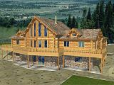 Log Homes with Basement Floor Plans Superb Log House Plans 9 Log Cabin Home Plans with