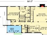 Long and Narrow House Plans Long and Narrow 32426wp Architectural Designs House