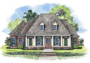 Louisiana Style Home Plans Louisiana House Plans Smalltowndjs Com