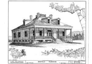 Louisiana Style Home Plans Wormsloe Plantation House Louisiana Plantation Style House