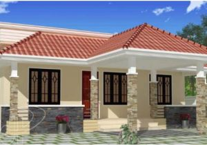 Low Budget Home Plans In Kerala 1100 Square Feet 3 Bhk Low Budget Small Elevation Kerala