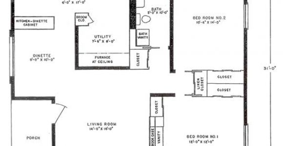 Lustron Homes Floor Plans Lustron Floor Plan Bluff View House
