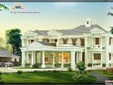 Luxary Home Plans 3850 Sq Ft Luxury House Design Kerala Home Design and