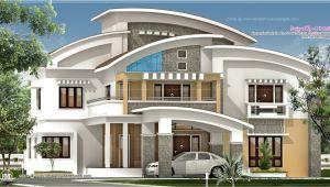 Luxery Home Plans 3750 Square Feet Luxury Villa Exterior Kerala Home