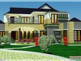 Luxery Home Plans 5 Bedroom Luxury Home In 2900 Sq Feet Kerala Home