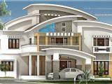 Luxery House Plans 3750 Square Feet Luxury Villa Exterior Kerala Home