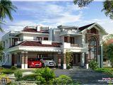 Luxery House Plans 400 Square Yards Luxury Villa Design Kerala Home Design