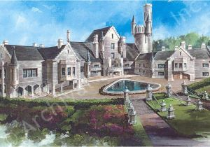 Luxury Castle Home Plans Balmoral Castle Plans Luxury Home Plans Lap Pools