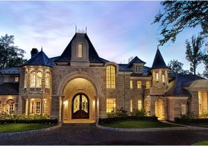 Luxury Castle Home Plans Showcase Beautiful French Country Chateau Luxury House Plans