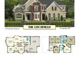 Luxury Empty Nester House Plans Empty Nester House Plans Luxury Plan 2987 2 the Litchfield