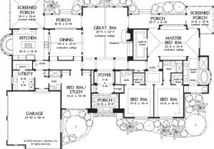 Luxury Floor Plans for New Homes Awesome One Story Luxury Home Floor Plans New Home Plans