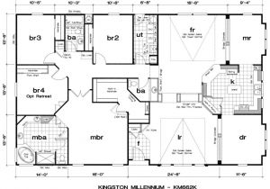 Luxury Floor Plans for New Homes Live Oak Manufactured Homes Floor Plans Luxury Triple Wide