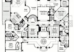 Luxury Floor Plans for New Homes Luxury Luxury Estate Home Floor Plans New Home Plans Design