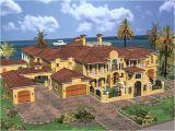 Luxury Florida Home Plans Cedar Palm Luxury Florida Home Plan 106s 0069 House