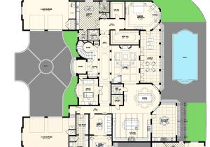 Luxury Home Design Plan Luxury Villas Floor Plans