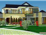 Luxury Home Plan Designs 5 Bedroom Luxury Home In 2900 Sq Feet Kerala Home