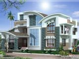 Luxury Home Plan Designs Modern Mix Luxury Home Design Kerala Home Design and