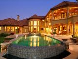 Luxury Home Plans with Pools Mediterranean House Plans with Pools