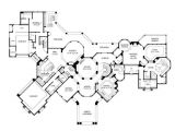 Luxury Homes Floor Plan Luxury Home Plans Mediterranean Home Design 8768
