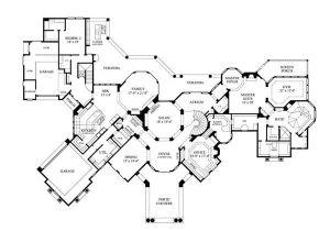 Luxury Homes Floor Plan Luxury Home Plans Mediterranean Home Design 8768