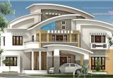 Luxury Homes Plans 3750 Square Feet Luxury Villa Exterior Kerala Home