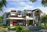 Luxury Homes Plans 400 Square Yards Luxury Villa Design Kerala Home Design