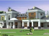 Luxury Homes Plans Designs Luxury House Plan with Photo Kerala Home Design and