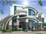 Luxury Homes Plans with Photos Modern Mix Luxury Home Design Kerala Home Design and