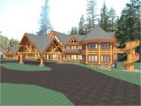 Luxury Log Homes Plans Hawkeye 15281 Sq Ft Luxury Log Home Plans Log Cabin Kit
