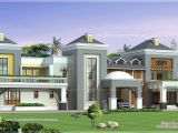 Luxury Mansion Home Plans Luxury House Plan with Photo Kerala Home Design and