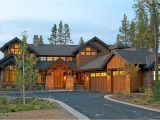 Luxury Mountain Home Plans Mountain Luxury with Bridge Balcony 54204hu