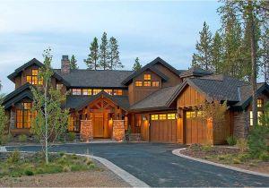 Luxury Mountain Home Plans Mountain Luxury with Bridge Balcony 54204hu