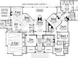 Luxury One Story Home Plans Luxury Style House Plans 5194 Square Foot Home 1 Story