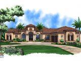 Luxury One Story Home Plans Mediterranean House Plan Story Luxury Home Plans Small