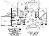 Luxury Ranch House Plans with Indoor Pool Beau Villa House Plan Active Adult House Plans