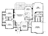 Luxury Single Story Home Plans One Story Luxury House Plans Rugdots Com