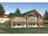 Luxury Waterfront Home Plans Ranch House Plans with Walkout Basement Walkout Basement
