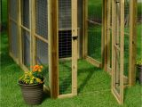 Make Your Own Dog House Plans How to Build A Dog Run with attached Doghouse How tos Diy