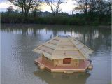 Mallard Duck House Plans Floating Duck Houses for Ponds Floating Mallard Duck
