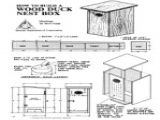 Mallard Duck House Plans Makin It with Frankie Building A Duck House