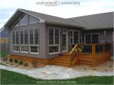 Manufactured Home Addition Plans 4 Season Room Addition Exterior Des Moines Boone