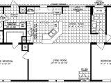 Manufactured Home Floor Plans 3 Bedroom 2 Bath Three Bedroom Mobile Homes L 3 Bedroom Floor Plans