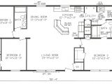 Manufactured Home Floor Plans Mobile Home Blueprints 3 Bedrooms Single Wide 71