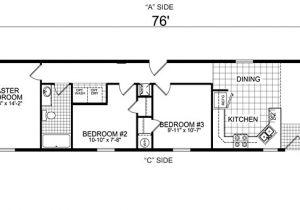 Manufactured Mobile Homes Floor Plans Single Wide Mobile Home Floor Plans Bestofhouse Net 34265