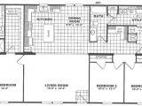 Marshall Mobile Homes Floor Plan 3 Bedroom 2 Bath 21 32 X 60 Schult Homes Marshall