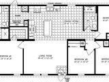 Marshall Mobile Homes Floor Plan 4 Bedroom 2 Bath Mobile Homes